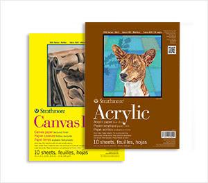 Canvas & Acrylic