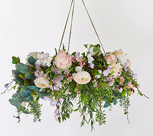 Spring Floral Chandelier