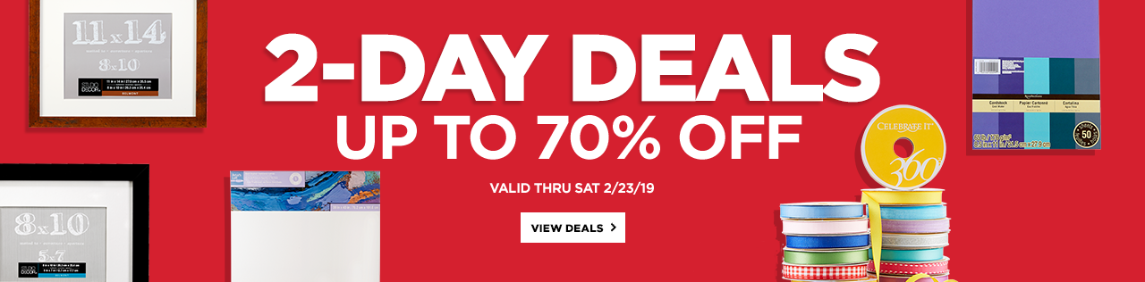 2-Day Deals Up to 70% OFF