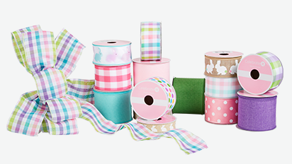 40% OFF ALL Easter Ribbon & Bows by Celebrate It® Reg. $4 - $10