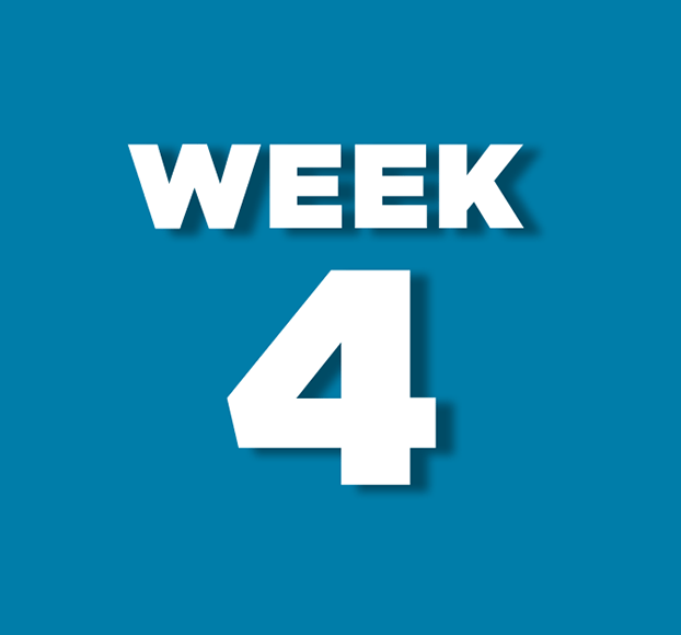 Week 4 theme to be announced