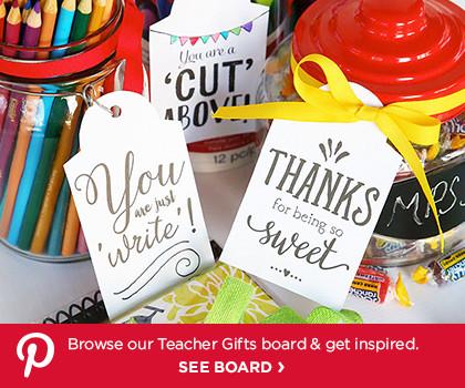 Pinterest Board – Teacher Gifts
