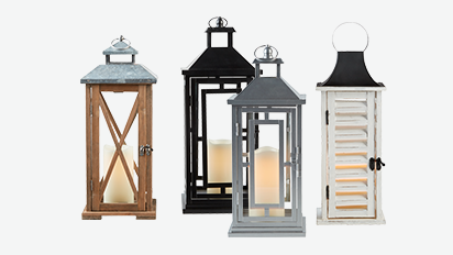 50% OFF Spring Lanterns. Reg. $20-$40 Each