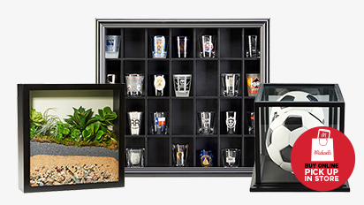 50% OFF Shadow Boxes & Display Cases