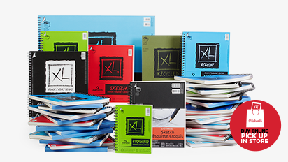 Buy One Get One 50% OFF Canson® Artist Paper Pads