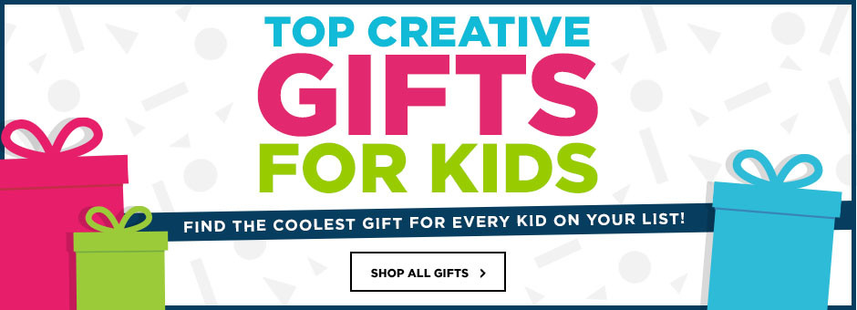 Top Creative Gifts for Kids. Find the coolest gift for every kid on your list! Shop all gifts