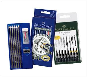 Faber-Castell® Pens, Pencils & Pastels