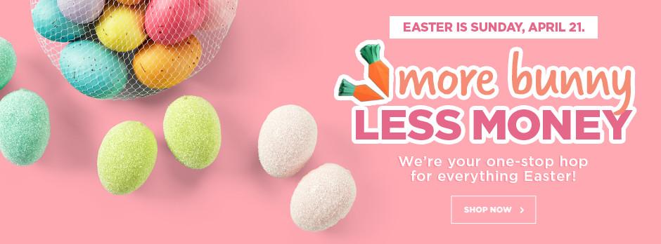 More Bunny, Less Money!