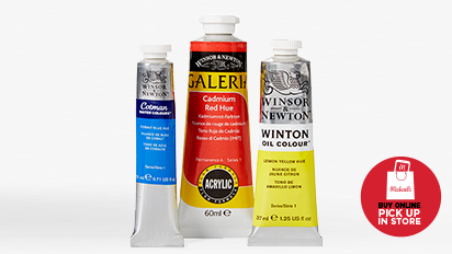 Buy One Get One 50% OFF Winsor & Newton® Paint Acrylic, oil & watercolor.